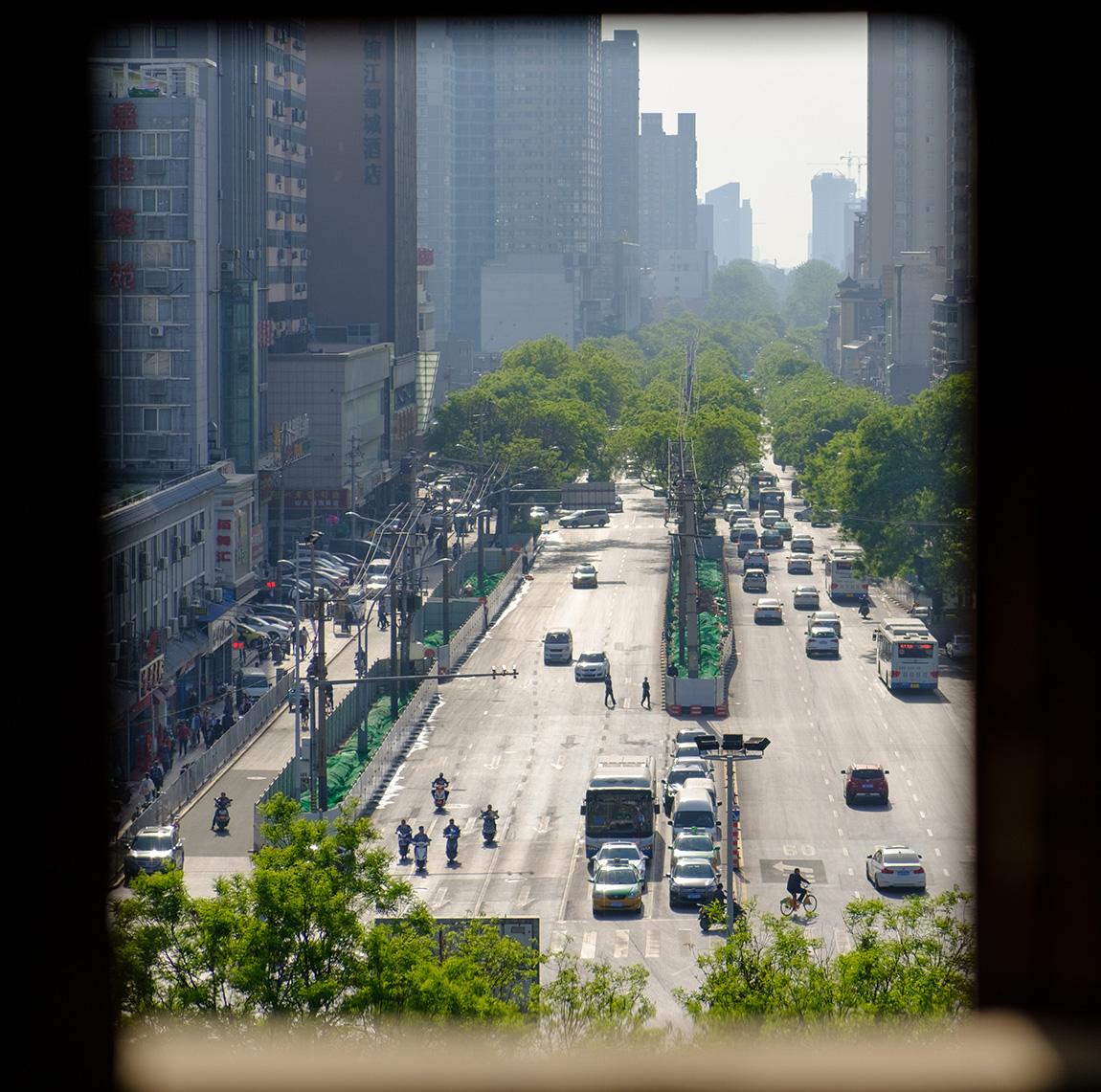 【西安北京旅行】シルクロードの起点「安定門」 そこは天空の城でした